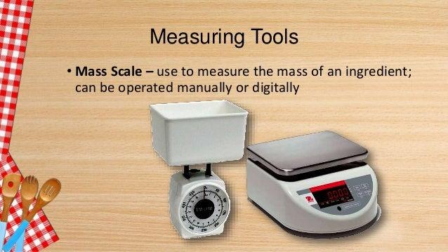 Measuring Tools ...