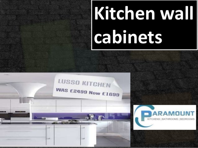 Kitchen wallcabinets
