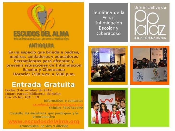 Kit de difusión Escudos del Alma Valle del Cauca 2012