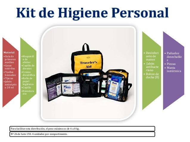 Material •Guía de primeros auxilios •Gasas estériles •Toallas húmedas •Tijeras •Jabón antiséptic o 20 ml  •Maquinill a de ...