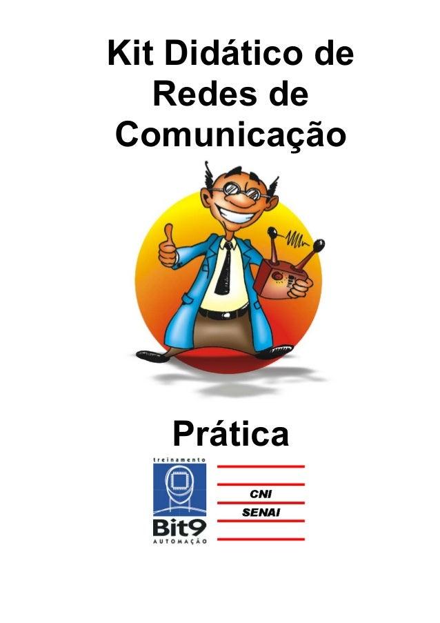 Kit Didático de Redes de Comunicação Prática