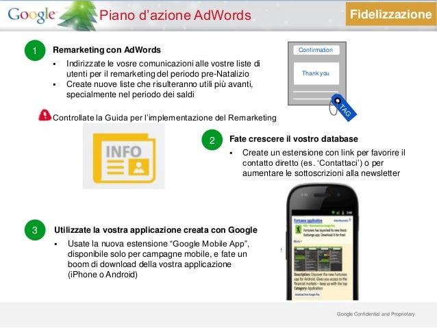 Piano d'azione AdWords                                                      Fidelizzazione1   Remarketing con AdWords     ...