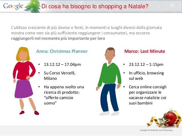 Di cosa ha bisogno lo shopping a Natale?L'utilizzo crescente di più device e fonti, in momenti e luoghi diversi della gior...