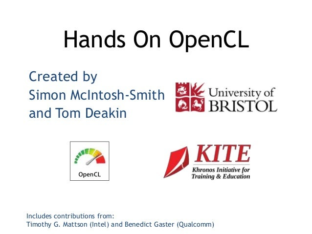 Hands on OpenCL