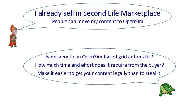 People can move my content to OpenSim Is delivery to an OpenSim-based grid automatic? How much time and effort does it req...