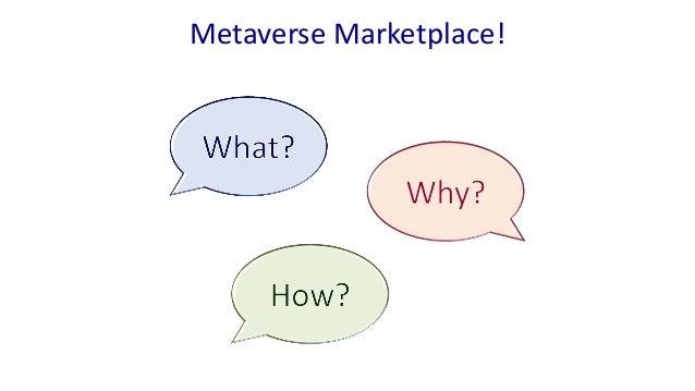 Metaverse Marketplace!