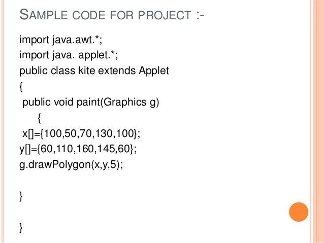 Applet Using Java