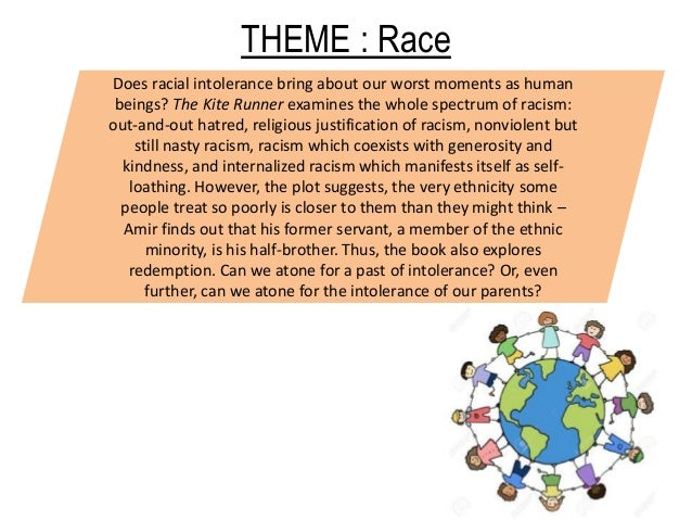 kite runner racism Important quotes from the kite runner helpful for writing essays and understanding the book.