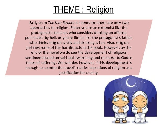 "kite runner revision 25 theme religion quote ""the"