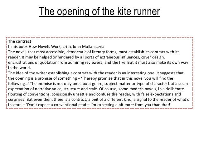 kite runner redmption essay Nietzsche: love, guilt & redemption eva cybulska peers into friedrich nietzsche's stormy psyche where one can no longer love, one should – pass by.