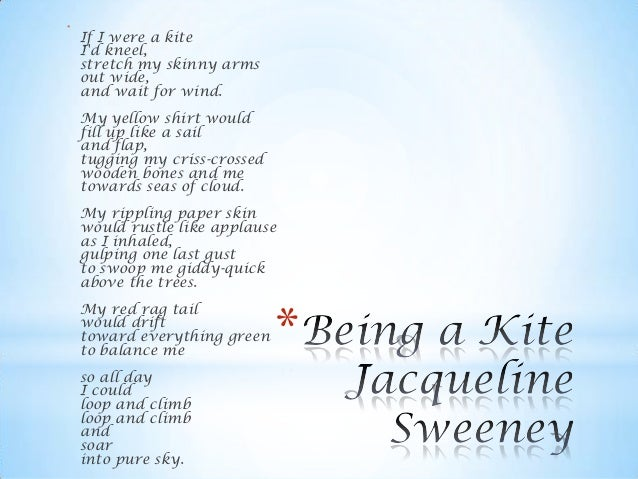 Kites in poetry