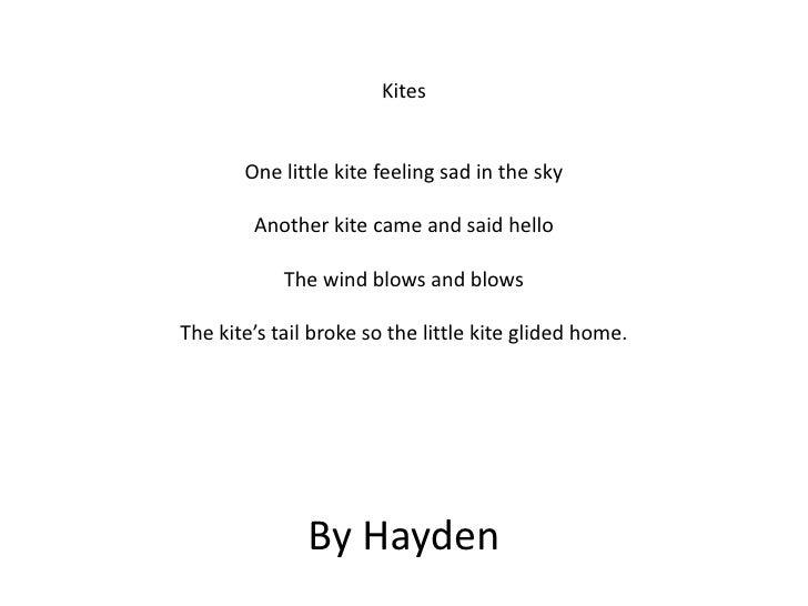 Kites poems