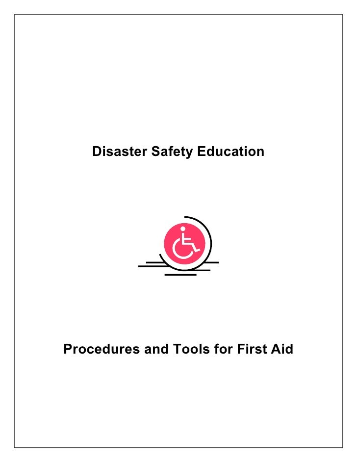 Disaster Safety EducationProcedures and Tools for First Aid