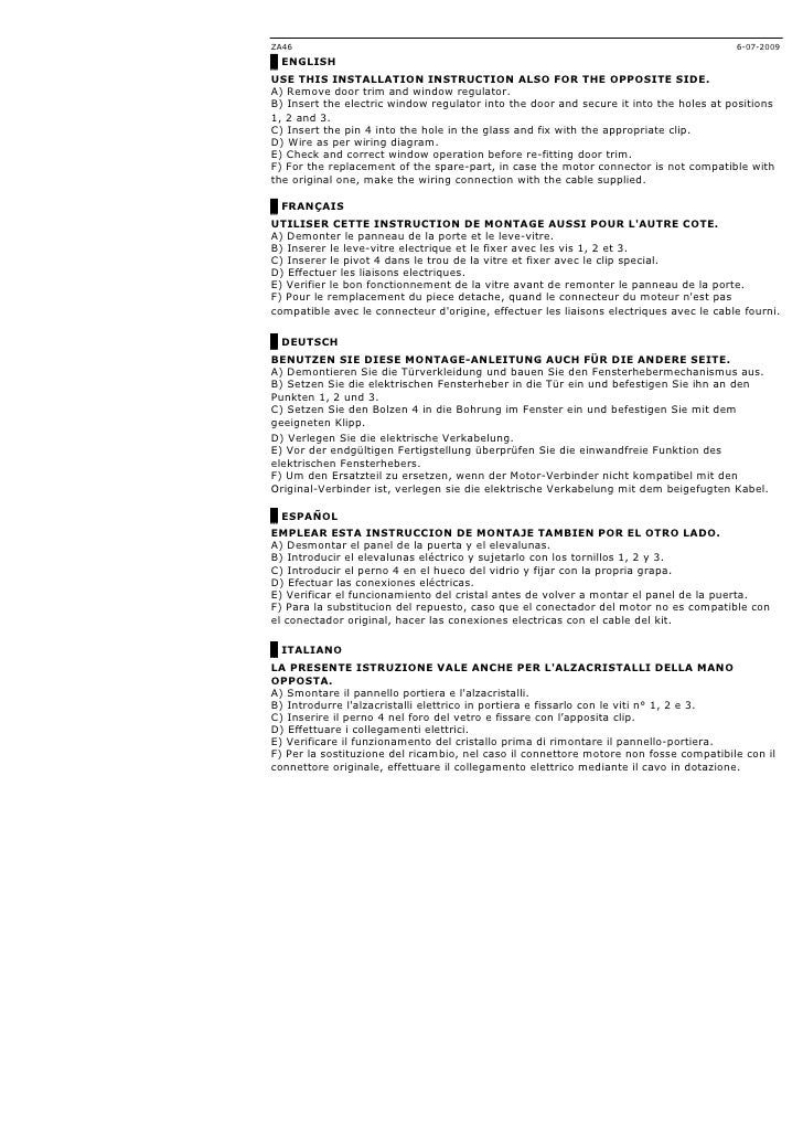Kit Leve Vitre Peugeot Bipper Depuis 2007 Par Autoprestige
