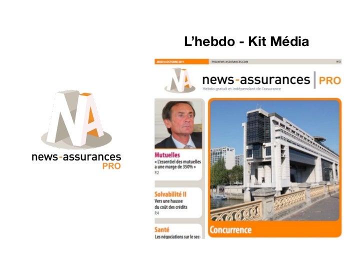 L'hebdo - Kit Média