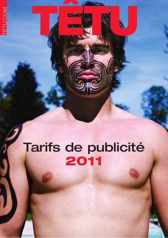 Tarifs de publicité       2011