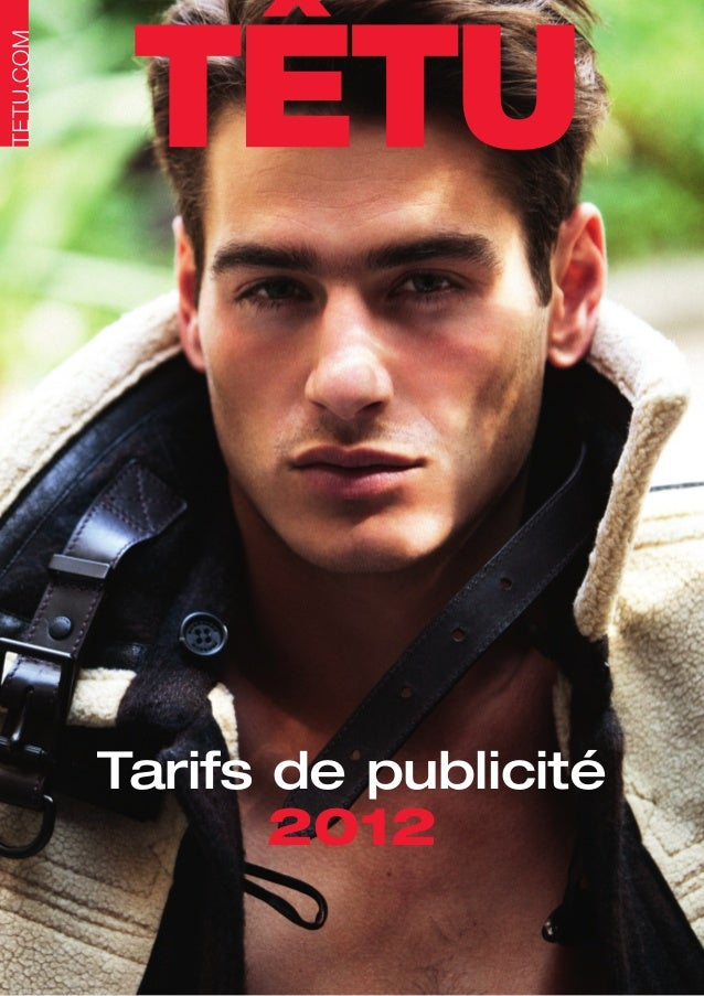 Tarifs de publicité       2012