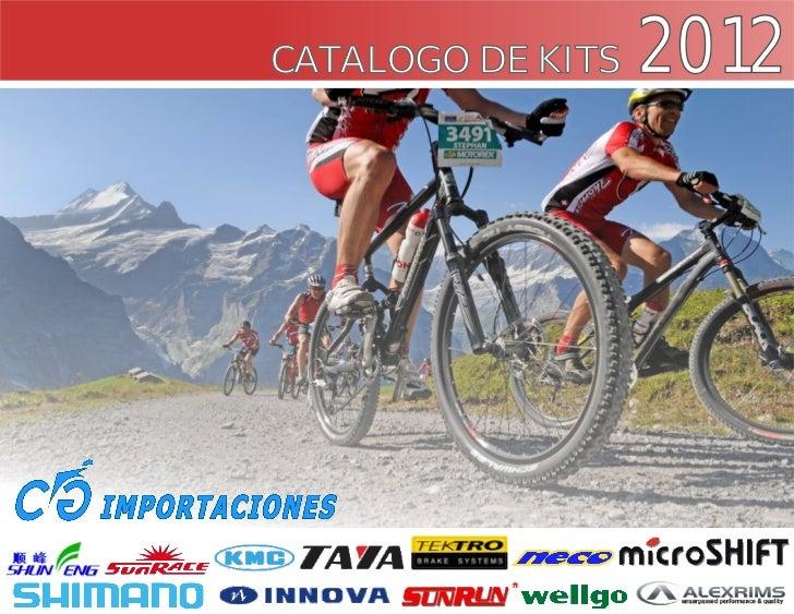 CATALOGO DE KITS   2012
