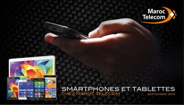 Kit Smartphones chez Maroc Telecom - Septembre 2014