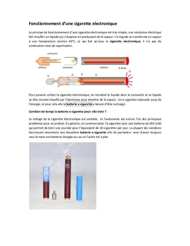 Fonctionnementd'unecigaretteelectronique Leprincipedefonctionnementd'unecigaretteelectroniqueesttrèssimple,u...