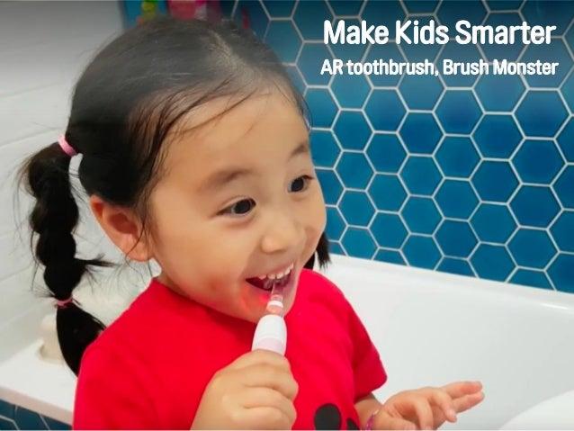 Make Kids Smarter AR toothbrush, Brush Monster
