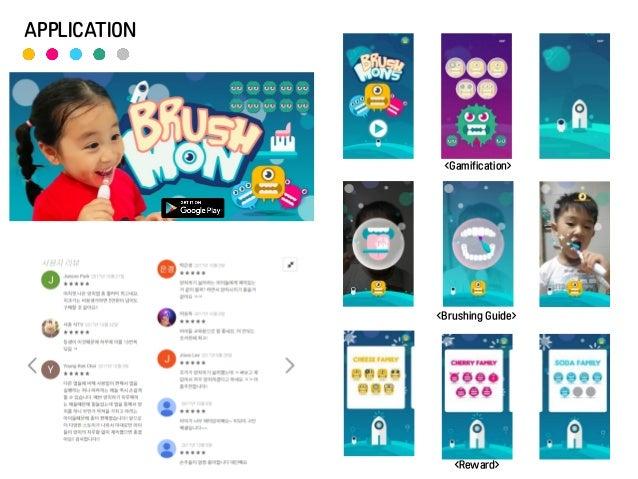APPLICATION <Gamification> <Brushing Guide> <Reward>