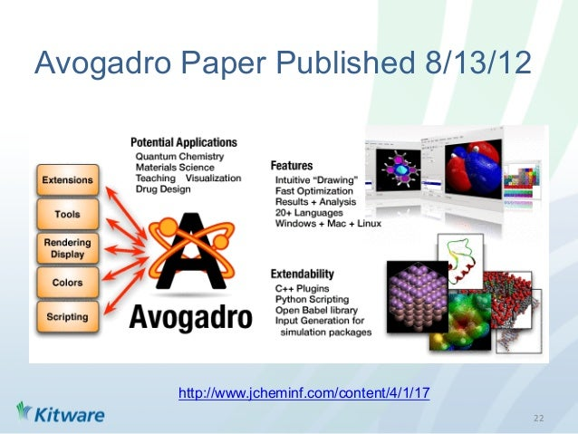 Open Chemistry: Input Preparation, Data Visualization & Analysis