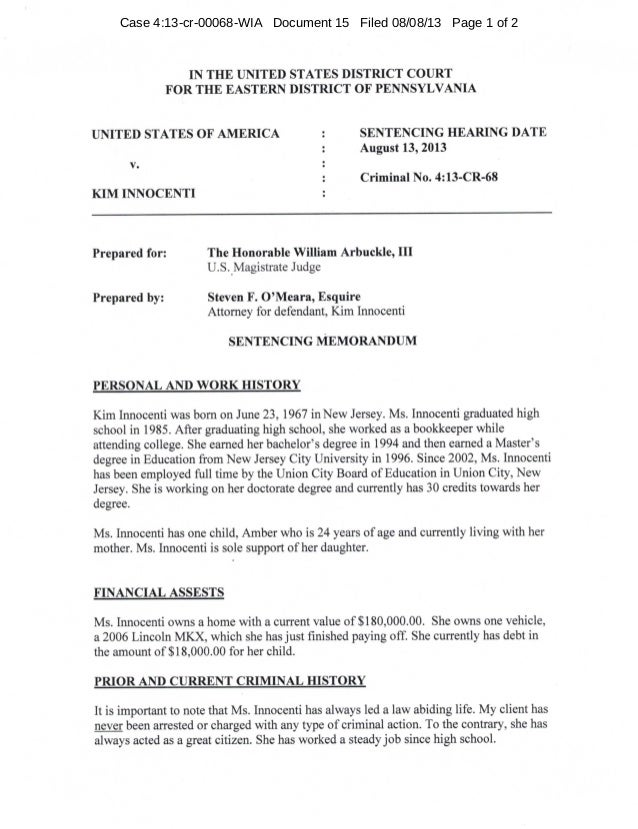 Case 4:13-cr-00068-WIA Document 15 Filed 08/08/13 Page 1 of 2