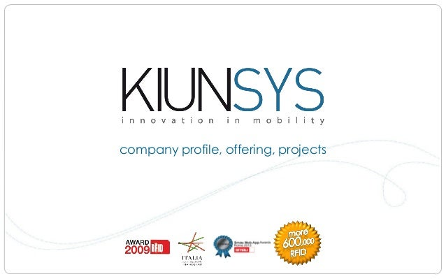 company profile, offering, projects