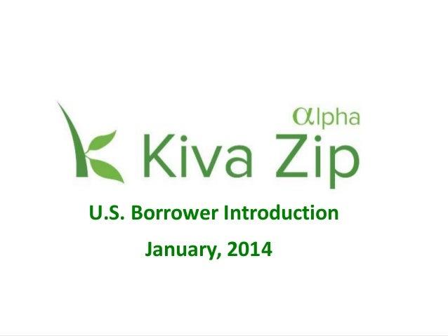 1 1 US Trustee Introduction Spring, 2013 January, 2014 U.S. Borrower Introduction