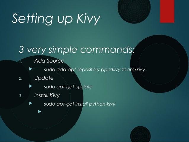 Kivy - Python UI Library for Any Platform