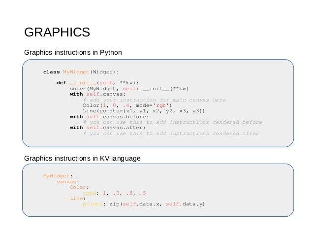 Kivy Talk Python Meetup Innsbruck 2017 04 25