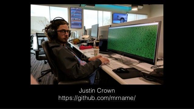 Justin Crown https://github.com/mrname/