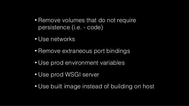 Rapid Development With Docker Compose