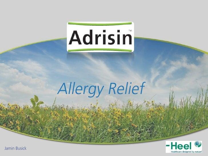  Allergy Relief         Nose      Eyes   Skin                                 2