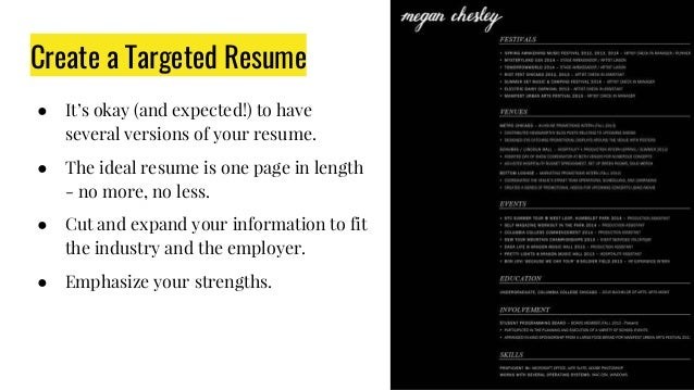 Creating A Resume  Portfolio That Pops