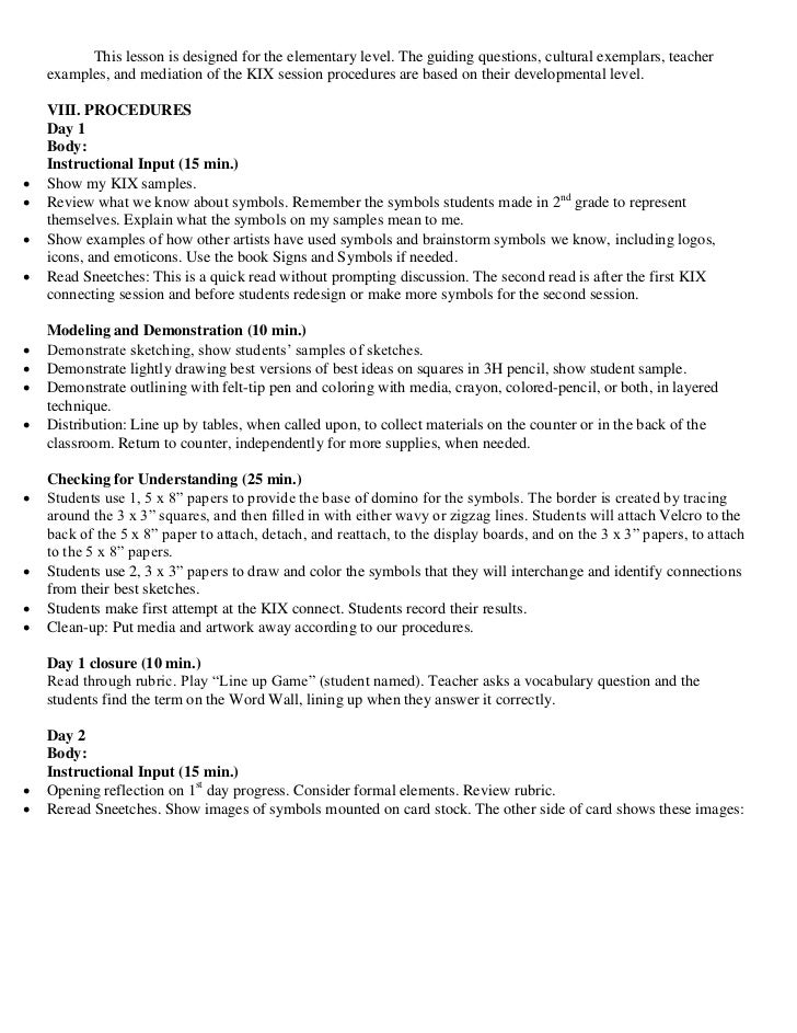 Kix lesson plan 7 this lesson is designed for the sciox Choice Image