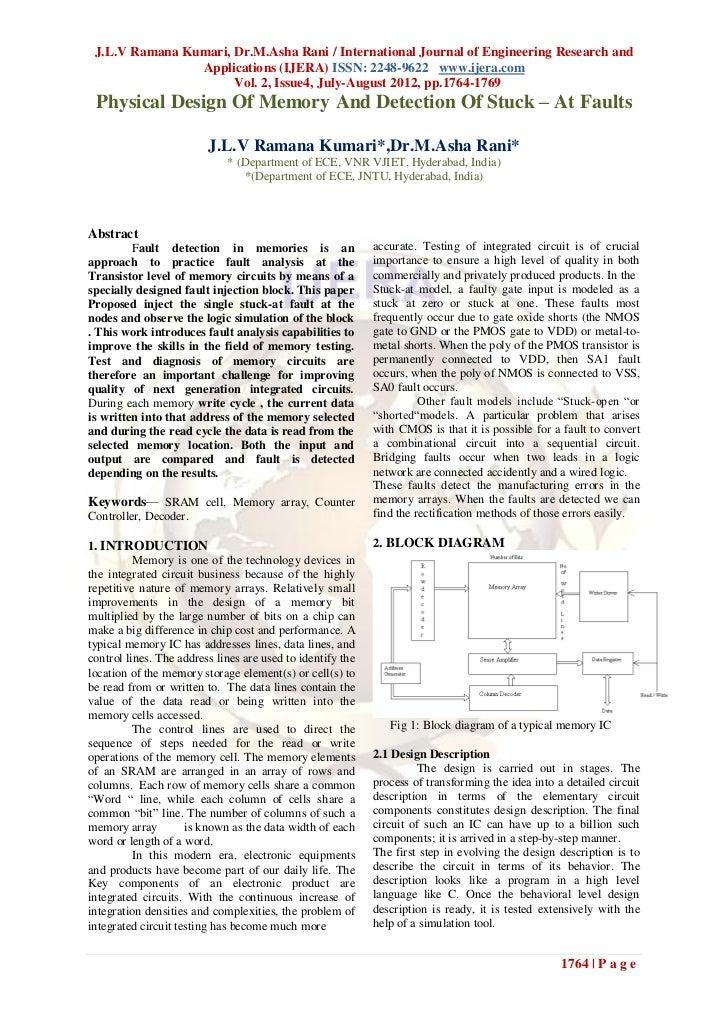 J.L.V Ramana Kumari, Dr.M.Asha Rani / International Journal of Engineering Research and                Applications (IJERA...