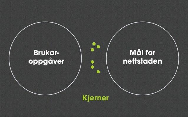 Vegar inn Vegar vidareKjerneinnhald Kjerne: Mål (oppnå minst eitt) Brukaroppgåver