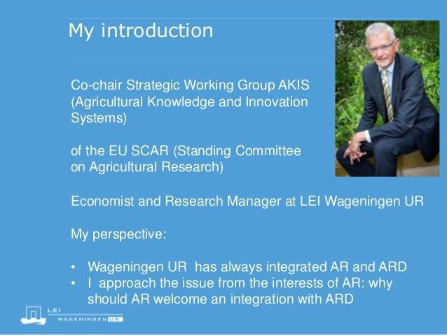 KJ Poppe integration of AR and ARD Slide 2