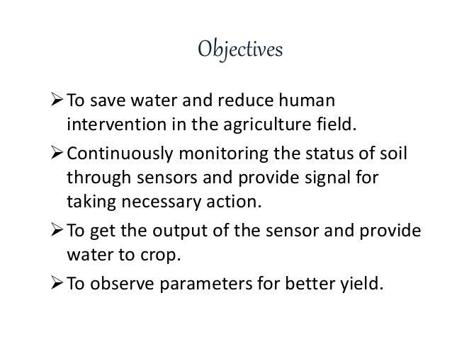 Smart Irrigation System Using IoT