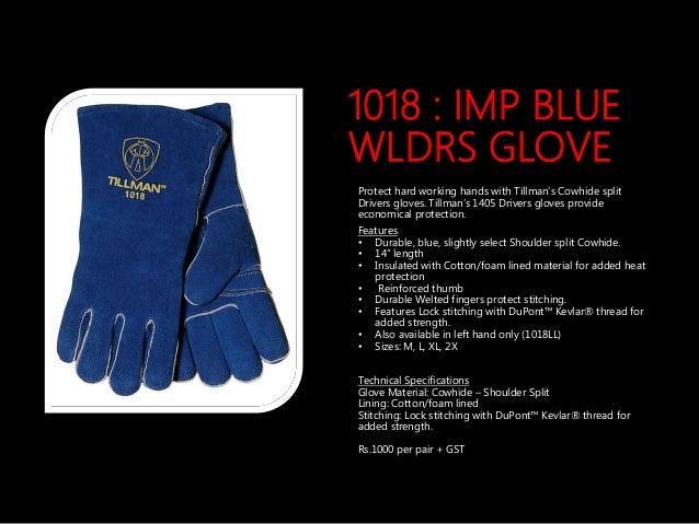14 in M Stick PR Welding Gloves L