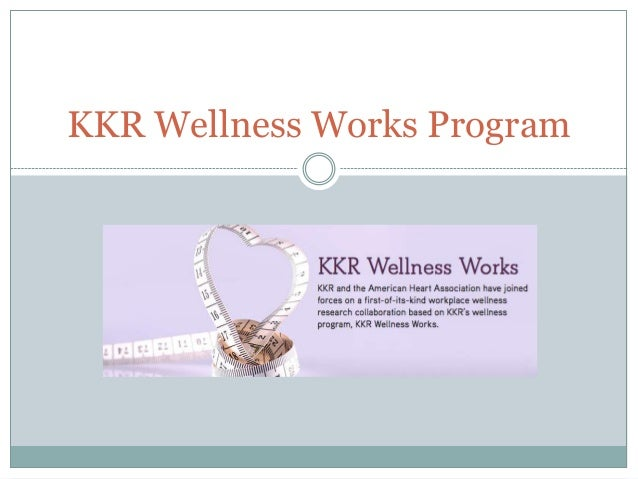 KKR Wellness Works Program
