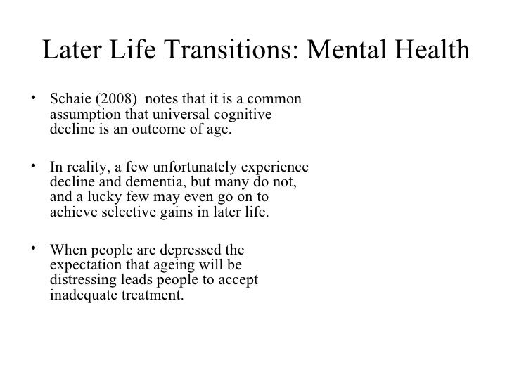 concept of life transitions In his research l brammer introduces the concept of life transitions and presents the most common types of such transitions after that he addresses to three theoretical models of life transitions, which are supported by tips on counseling them.