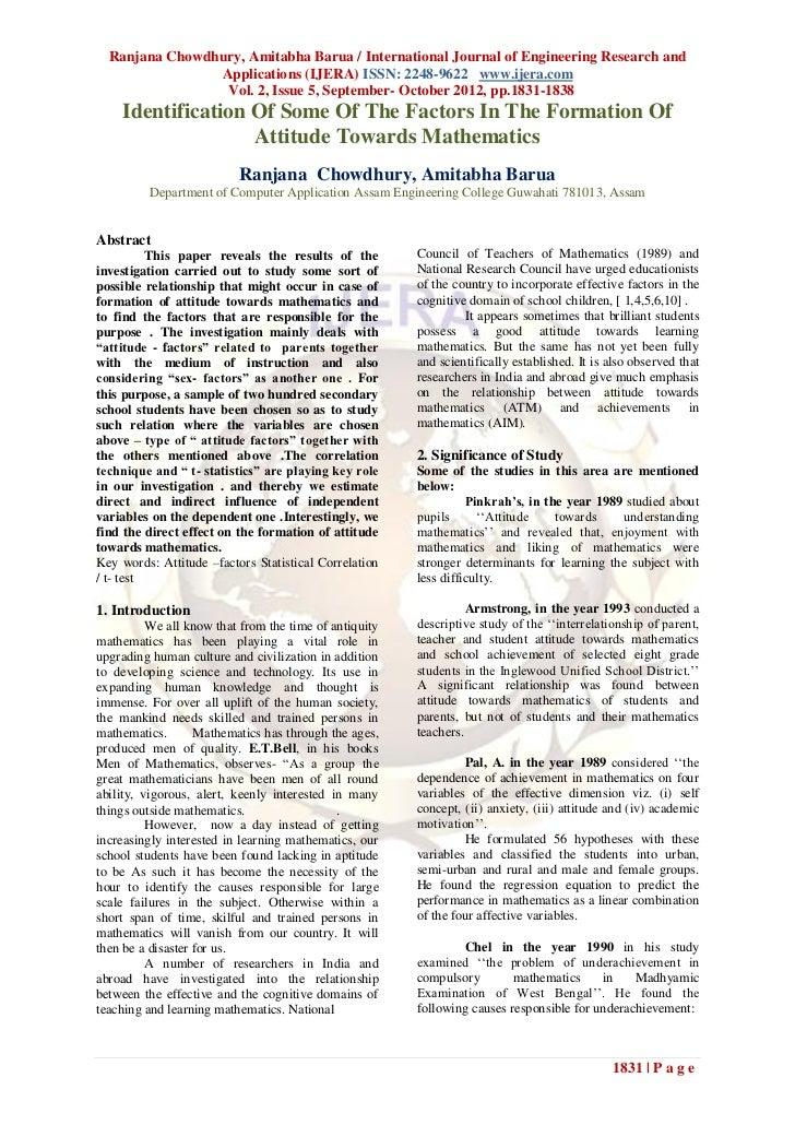 Ranjana Chowdhury, Amitabha Barua / International Journal of Engineering Research and                Applications (IJERA) ...