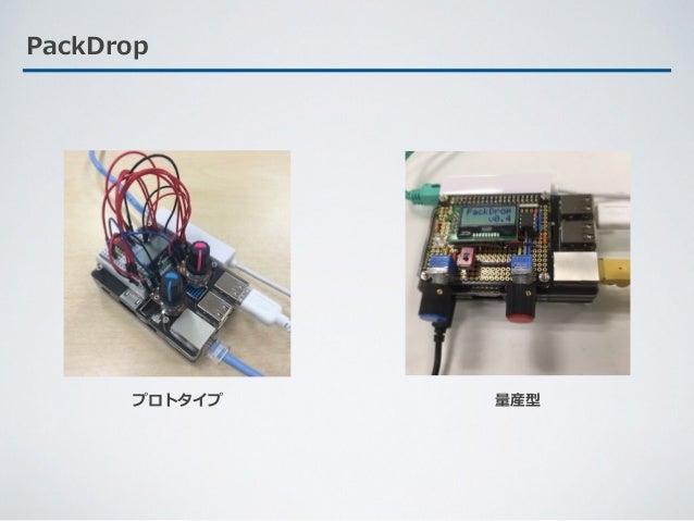 PackDrop プロトタイプ 量産型