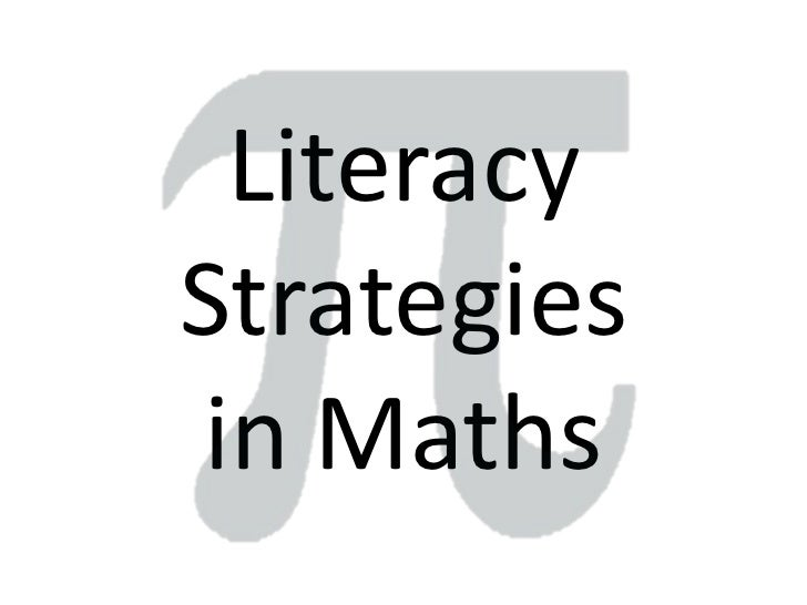 Maths & Literacy