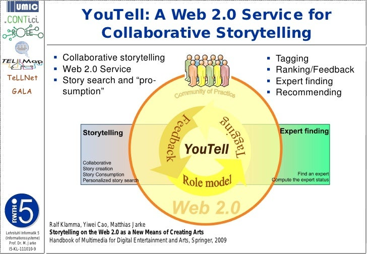 YouTell: A Web 2.0 Service for                                        Collaborative Storytelling                          ...