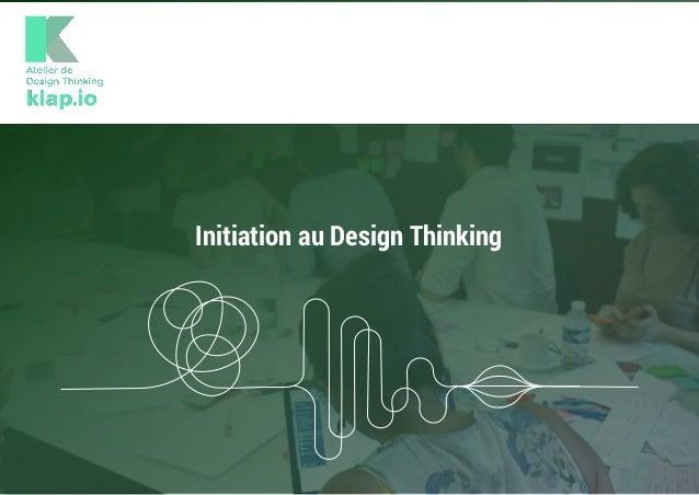 Initiation au Design Thinking