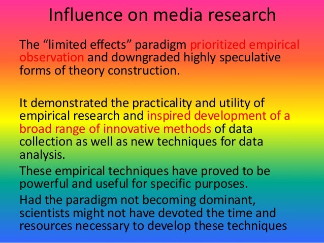 empirical and speculative theory The scientific theory of empirical theory is an explanation of someparts of the natural world the theory is well-substantiated and isbased on knowledge that has been.
